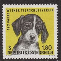 Austria SG1470 1966 Vienna Animal Protection Society 1s.80 unmounted mint